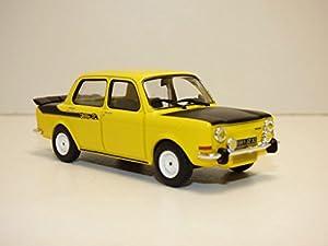 Solido-Simca-Rally 2-1974Coche de ferrocarril de Collection, 4302900, Amarillo