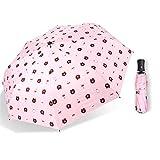 LYJZH Regenschirm Taschenschirm, kompakter tragbarer,geeignet für Männer und Frauen Vinyl Bär Sonnenschirm Taschenschirm colour13 99cm