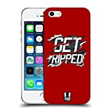 Head Case Designs Get Ripped Fitness Motivation Soft Gel Hülle für iPhone 5 iPhone 5s iPhone SE