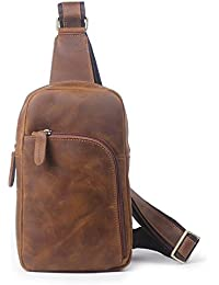 10992bab0e hongrun Men's Commode Ancienne Pack, Le Salon en Cuir mad est Un Pack Sac de
