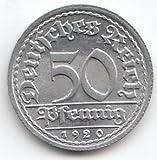 Generic Deutsches Reich Jägernr: 301 1921 A Sehr schön Aluminium 1921 50 Pfennig Ährengarbe (Münzen für Sammler)