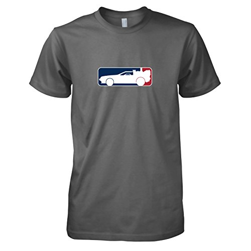 TEXLAB - BTTF: League - Herren T-Shirt, Größe L, (Marty Zurück In 2 Zukunft Kostüm Mcfly Die)