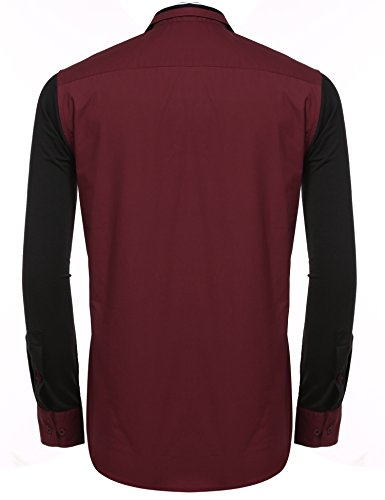 cooshional - Chemise casual - Homme Rouge
