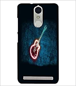 PrintDhaba Digital Guitar D-4782 Back Case Cover for LENOVO K5 NOTE (Multi-Coloured)
