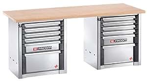 Etabli charges lourdes 2 m - 12 tiroirs Facom 2000.BB1M3