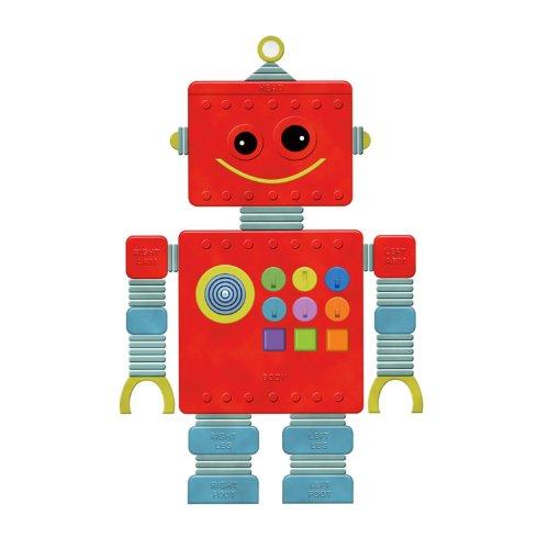 Wallies 13543 Peel and Stick Play Robot Room Décor Sticker