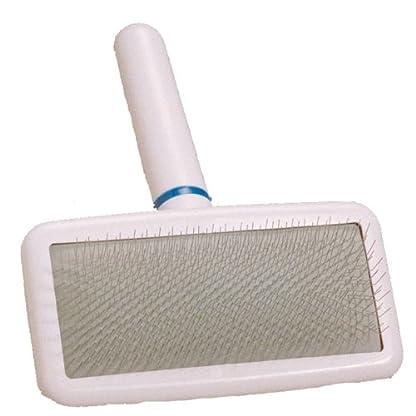 Doggyman Soft Slicker, White, Medium 1