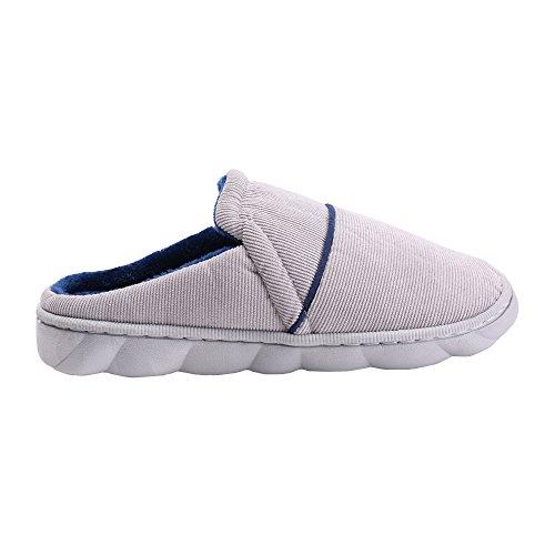 Indoor pantofole Inverno Primavera confortevole molli caldi pantofole permeabilità all'aria Pantofole William&KATE Blu