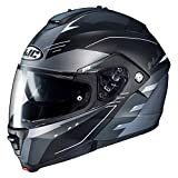 Motorradhelm HJC IS MAX II CORMI MC5SF, Schwarz/Anthracite, L