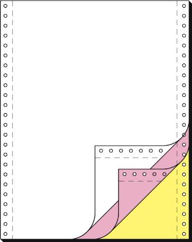 Sigel 33243 Endlospapier 12 Zoll x 240 mm (A4 hoch), 60/53/57 g, 600 Sätze 3fach