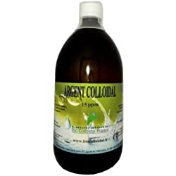 Bio Colloïdal Argent Colloïdal 15 ppm 1000 ml