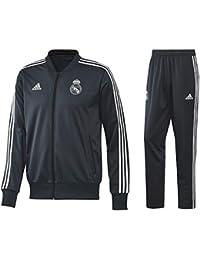 2dd196c9c adidas Tuta Ufficiale Real Madrid 2018 2019 Tuta panchina Real Madrid