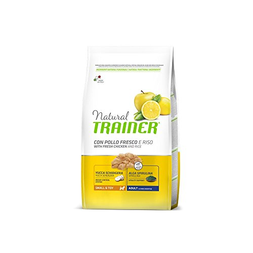Trainer Natural Small Pollo Riso kg. 7 Cibo Secco per Cani, Multicolore, Unica