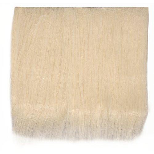 Rayher - 5320404 - de pelo largo de peluche, 7 cm, para la bolsa de 1 homedeco, 14 x 20 cm, M, Braun