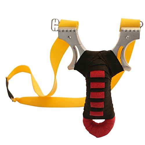 Toparchery Steinschleuder: Slingshot Schleuder Zwille Katapult Sportschleuder Schleuder-Profi