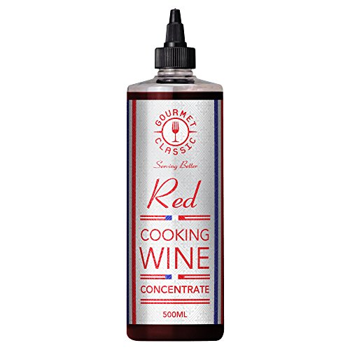 Gourmet Classic Red Cooking Wine Concentrate 500ml (Pack of 6) Test