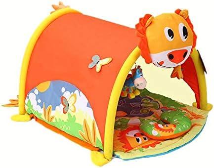 North King Tapis rampant pour bébé, tente de jeux de maison, couverture de remise en forme, tapis d'escalade, jouets éducatifs pour bébé 0-2 ans   Moelleux Et Léger