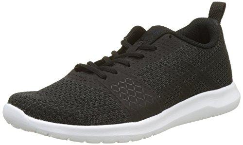 Kanmei, Zapatillas de Running Para Mujer, Negro (Black/Black/White), 38 EU Asics