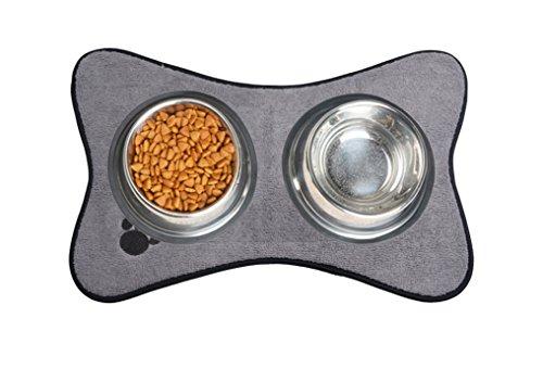 sinland-qualitts-mikrofaser-pet-bowl-mat-dish-trocknung-matte-mit-antirutsch-unterlage-30cmx45cm-gra