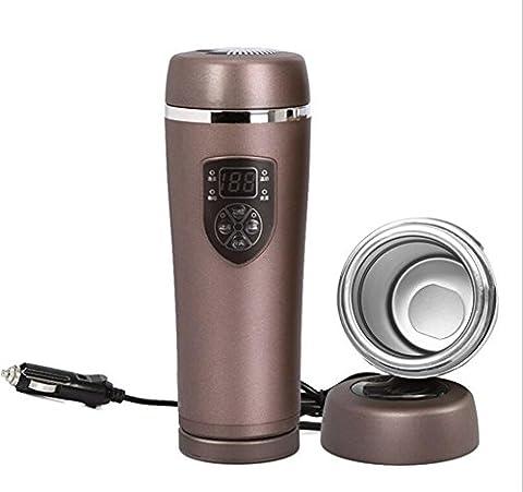 12V Auto elektrische Wasser Heizung Warmwasserbereiter Wasserkocher Isolierung Tasse 100 Grad Edelstahl-Thermoskanne , 2