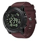 T1 Tact Militärgrad-super Starke intelligente Uhr-im Freiensport-sprechende Uhr Mens Digital Sports Watch Wasserdichte Outdoor Pedometer Kalorienzähler Multifunktions Bluetooth Smart Uhr