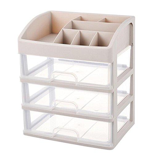 Preisvergleich Produktbild HZSHN Schublade Transparent Kosmetika Aufbewahrungskiste Hautpflegeprodukte Kunststoff Regal