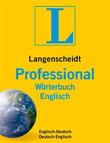 Professional-Wörterbuch Englisch