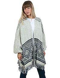 Sunshine - Poncho en laine - Femme