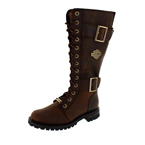 HARLEY DAVIDSON Women - Stiefel BELHAVEN - aged bark, Schuhgröße:EUR (Stiefel Damen Harley)