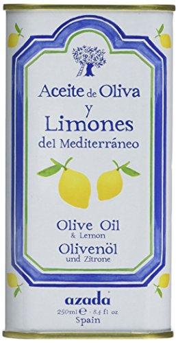 Azada Lemon Flavoured Extra Virgin Olive Oil 250 ml