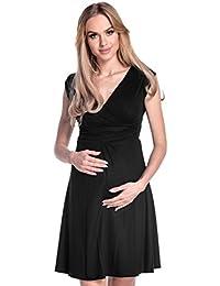 7cd9307686bc Happy Mama Donna Abito prémaman per L Allattamento Vestito Estivo Elegante  256p