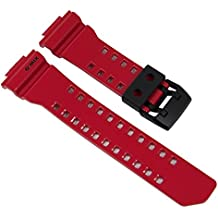 Casio G-Shock Ersatzband Uhrenarmband Resin Band Rot für GBA-400 10479601