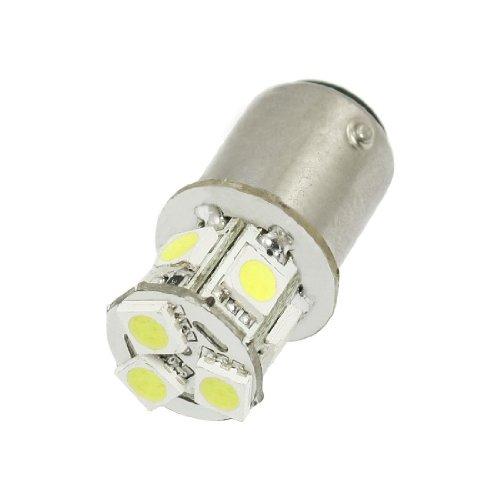 Preisvergleich Produktbild SODIAL (R) Auto 2057 2357 2396 5050 SMD BAY15D 8 LED Weiss-Bremsen-Ruecklichtbirne 12V