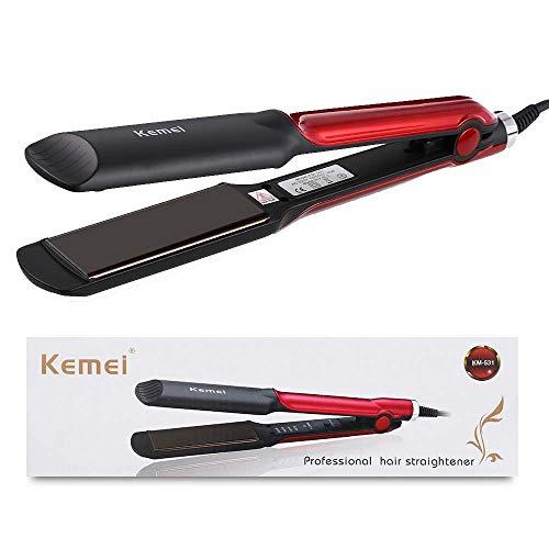 BDENINKK Lisseurs à Cheveux Professionnels à Plaque Large à Lisser à Tension Réglable Et Arrêt Automatique De La Température