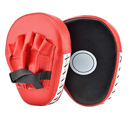 Mitts, Focus Mitts Pu Leder Boxing Pads Target Mitt Handschuh FüR Focus Training Von Karate, Jab Pads Focus Punch Bag Handschuhe Target Strike Mitts ()