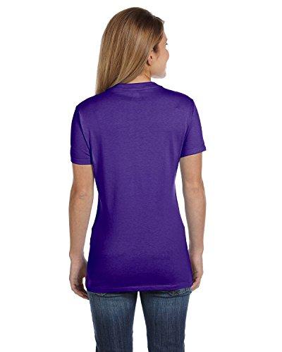 Hanes T-shirt nano-t à col en V pour homme Violet - Violet