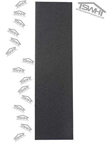 Skatewarehouse - Nastro antiscivolo Griptape perforato professionale, per skateboard, 9' x 33' (23 x 84 cm)