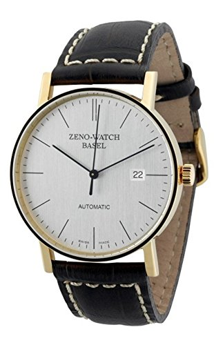 Zeno-Watch Herrenuhr - Bauhaus Automatic 18ct gold - 4636-GG-i3