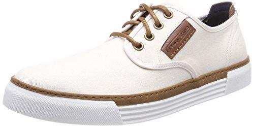 camel active Herren Racket 14 Sneaker, Weiß (Off-White), 42 EU -