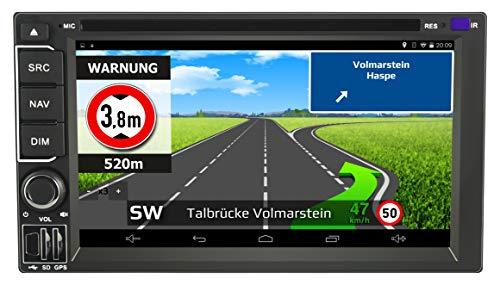 IntelliRoute CA9100 DAB Reisemobil-Navigationssystem