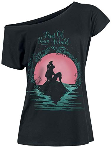 Arielle die Meerjungfrau Part of Your World T-Shirt schwarz L