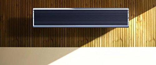 CasaTherm- Infrarot-Dunkelstrahler CasaTherm Heatpanel PLUS/D – Infrarot-Dunkelstrahler (Blacklight), 1500W, 6,8 A, IP55, mit Halterung, inkl. IR-Fernbedienung mit 3 Leistungsstufen - 5