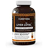 CurevedaTM Herbal Liver Loyal- Milk Thistle For Healthy Liver Function and for promoting