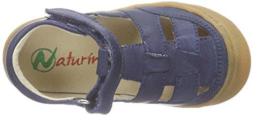 Naturino Naturino 3997, Bottines avec doublure intérieure garçon Bleu - Blau (NAPPA SPAZZOLATA NAVY)