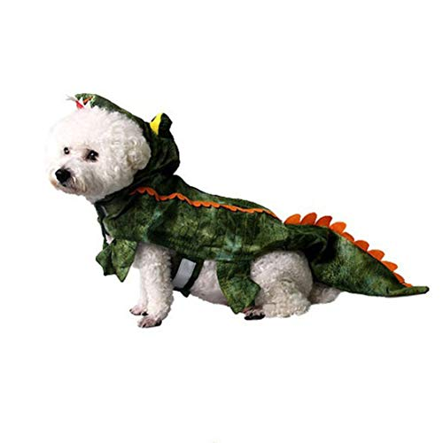Cute Pet Kostüm Hunde - WEIHAN Cute Pet Supplies Haustier Katze Hund Kostüm Herbst Winter Haustier Weihnachten Persönlichkeit Krokodil Warme Kleidung Lustige Kleidung