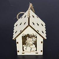 Erduo SUI Bao árbol de Navidad con Luces Colgante de la Cabina Decoraciones de Navidad Creativo Colgante de Navidad al por Mayor
