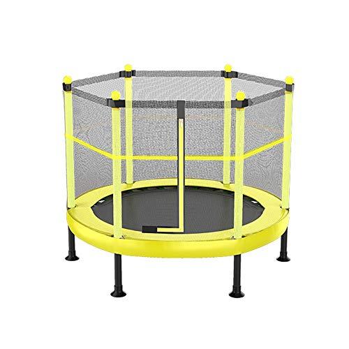 JDKC Mini-Trampolin, Faltbarer Sicherheitsschild, rund, Heim-Fitness-Trampolin, geeignet für Outdoor/Garten (Belastbarkeit: 250 kg) Innentrampolin
