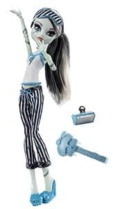 Monster High - V7975 - Poupée Pyjama Monster High - Frankie Stein