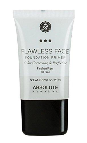 Absolute New York Flawless Fond de teint Face Primer, Lot de 1