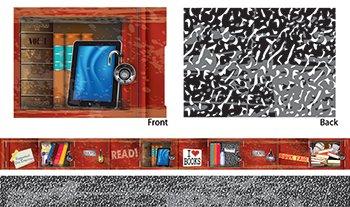 Teacher Created Ressourcen Analphabetismus Spind Xtreme doppelseitig Bordüre